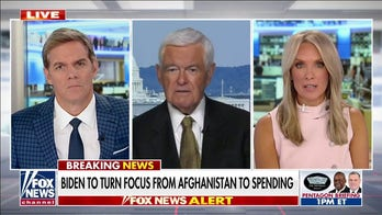Gingrich: US may spend more money on defense after Afghanistan withdrawal