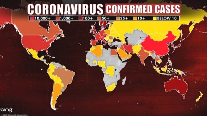WHO officially designates coronavirus a global pandemic