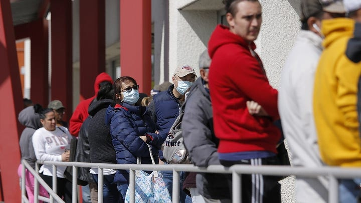 Unemployment claims spike to record 3.28 million as coronavirus hits economy
