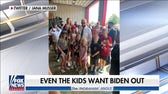 Biden takes photo with kid Trump supporters, replaces 9/11 speech with bizarre ramblings