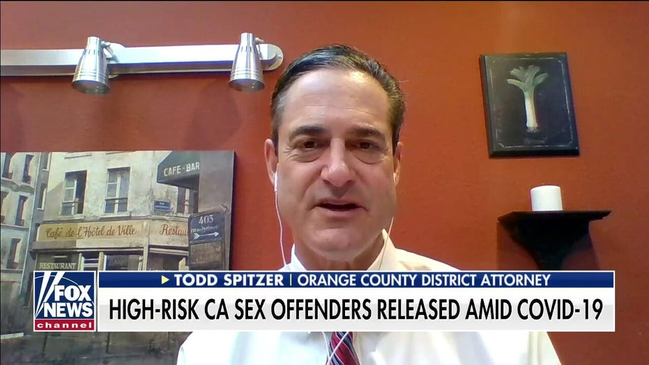 OC District Attorney 'outraged' after County Commissioner releases dangerous sex offenders due to COVID-19 restrictions