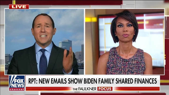 Raymond Arroyo: New Hunter Biden emails 'a huge problem' for White House