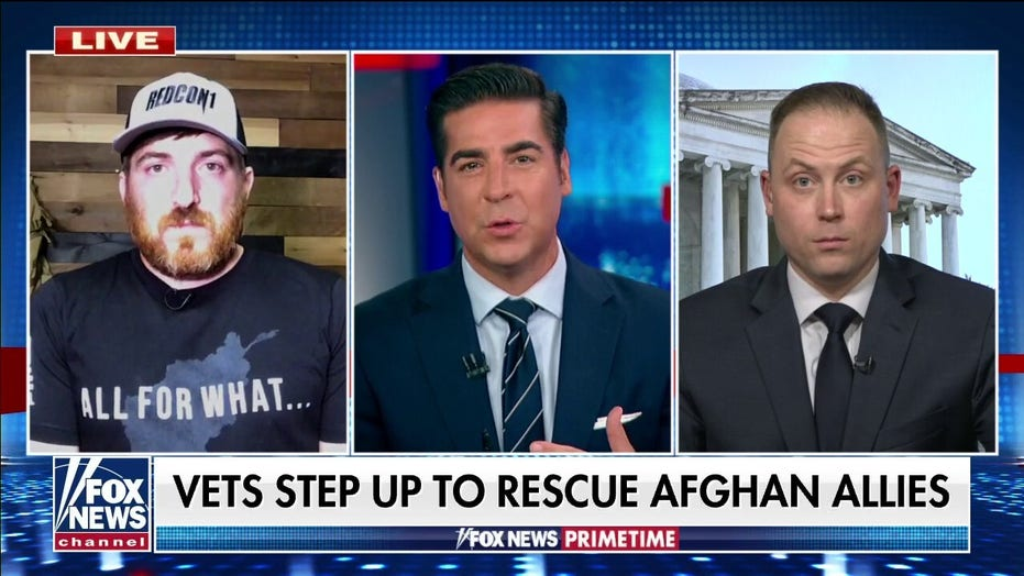 War veterans fundraising for private refugee charter flights: Biden 'has a moral obligation to help'