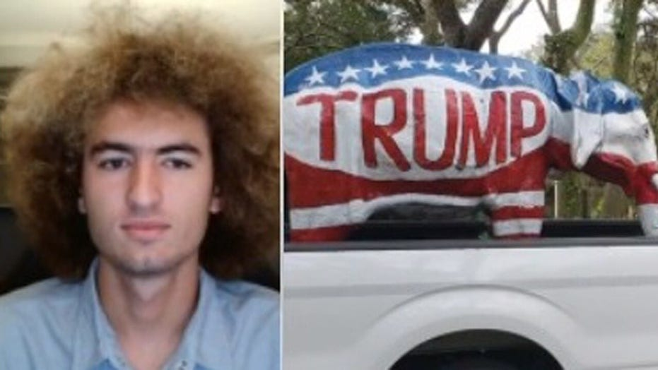 Pro-Trump high schooler sues Florida district for censoring support