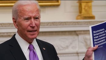 Biden places focus on COVID-19 during first full day in office