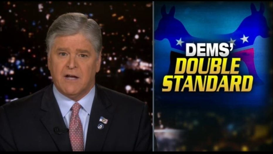 Hannity says media doesn't care about racism if it comes from Democrats