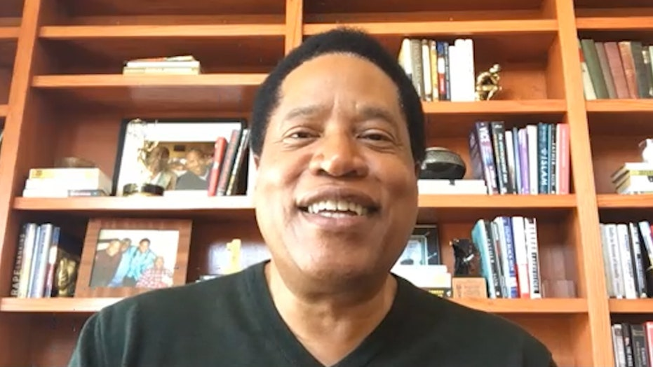Larry Elder says Black Lives Matter movement is 'bogus,' urges voters to look at Trump's results