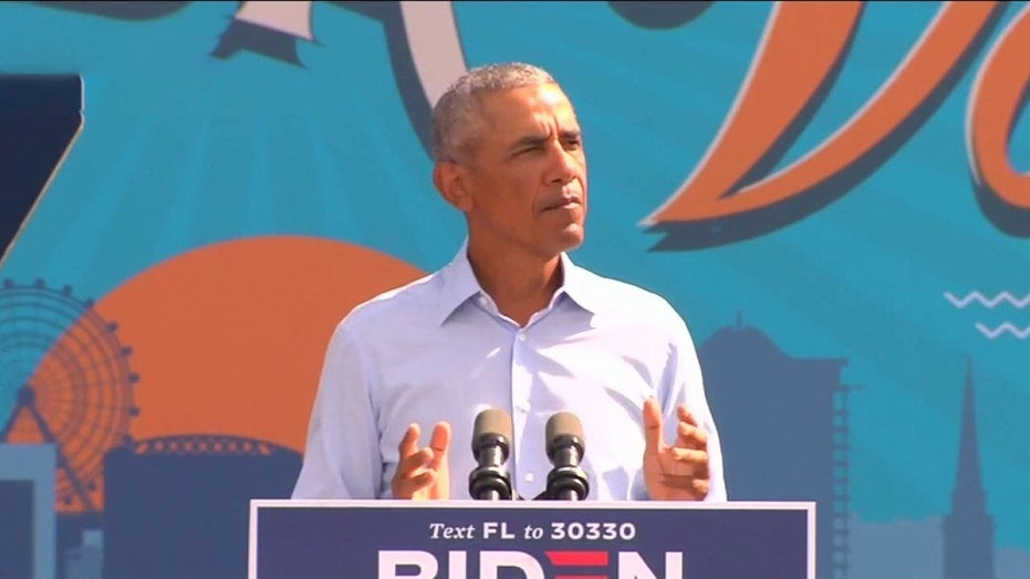 Obama unloads on Trump at rally for Biden: 'We can't afford 4 more years of this'