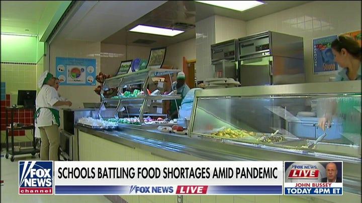 Schools battling food shortages amid COVID-19 pandemic