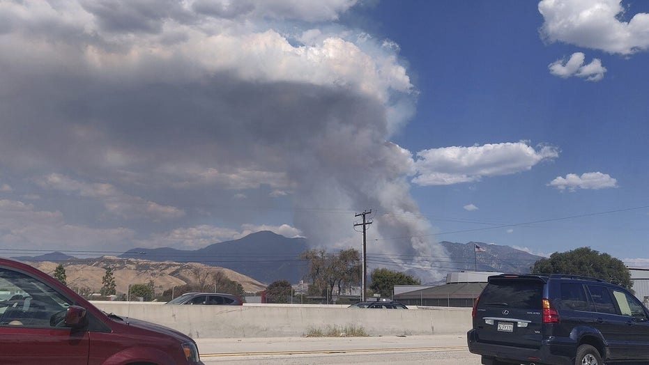 California official says family behind gender reveal party that triggered El Dorado fire could have to foot the bill, report