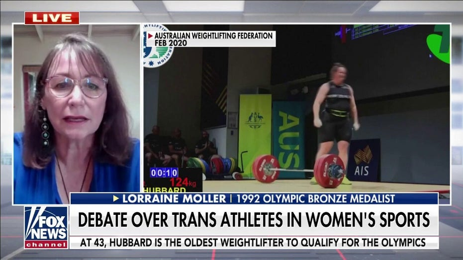 Former Olympian says Trans weightlifter competing in women's category at Olympics 'sets dangerous precedent'