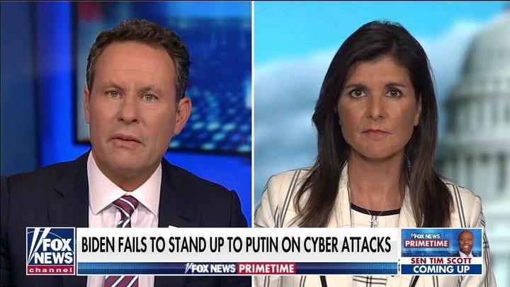 Haley reacts to Biden-Putin summit