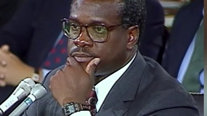 Justice Clarence Thomas' story told in his own words in new documentary