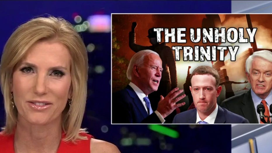Ingraham: Big Tech, Big Business and BLM exposed as 'unholy trinity' behind Biden win