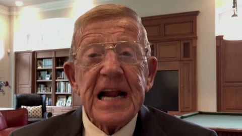 Lou Holtz sounds off over Big Ten postponing football: 'Let's go play!'