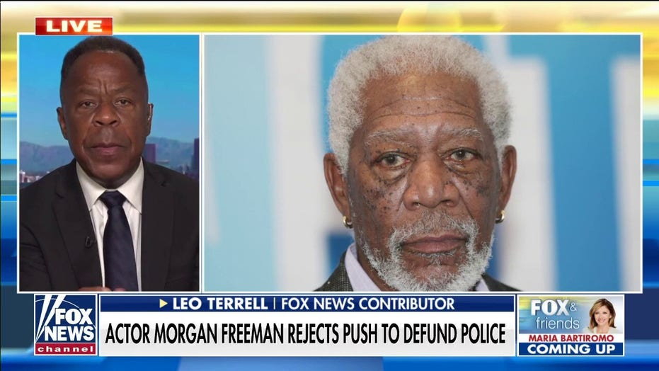 Leo Terrell applauds Morgan Freeman's opposition to defund the police movement