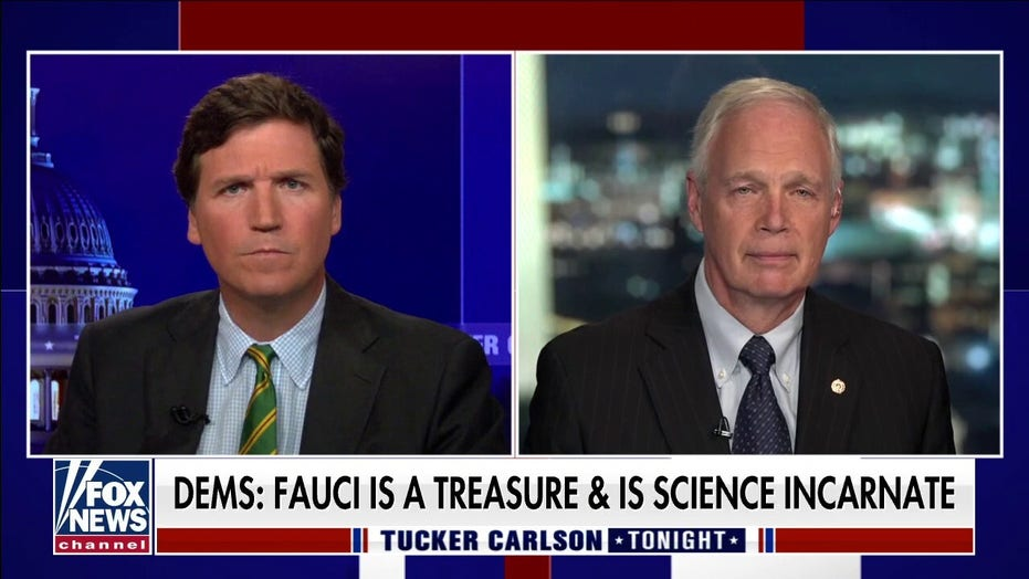 Sen. Johnson: Fauci and 'COVID gods' have been deified despite record, ignoring of non-intravenous treatments