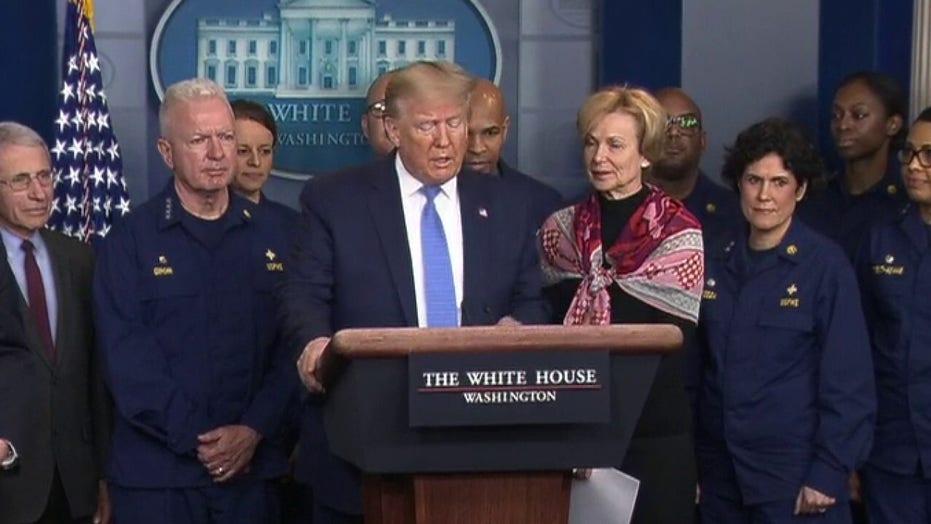 President Trump coronavirus update from DC