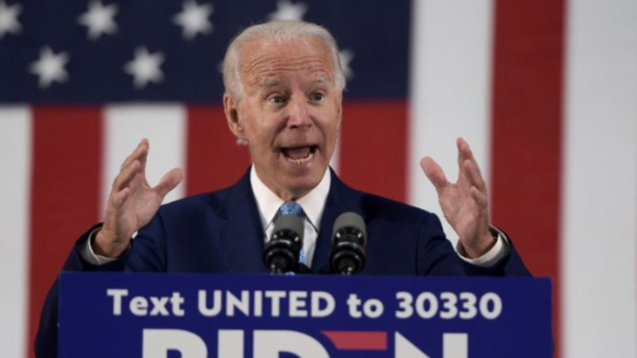 Former Vice President Joe Biden tweets that he is going to 'transform' the nation if he's elected