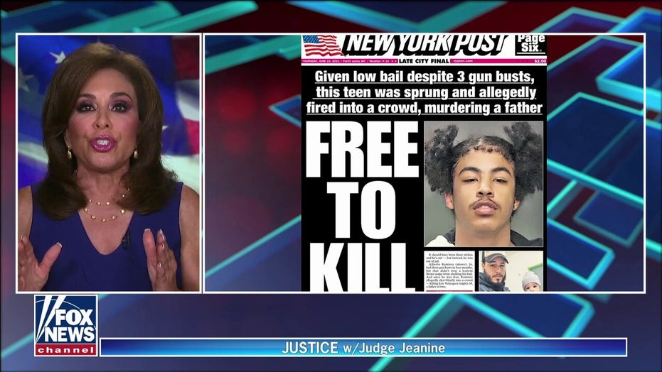 Judge Jeanine rips 'frightening trend' of judges bowing to 'woke culture'