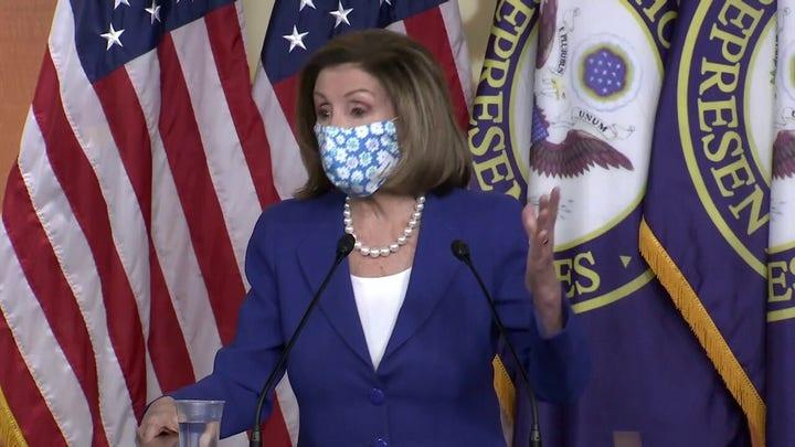 House Speaker Nancy Pelosi said Biden Administration is getting border 'under control'