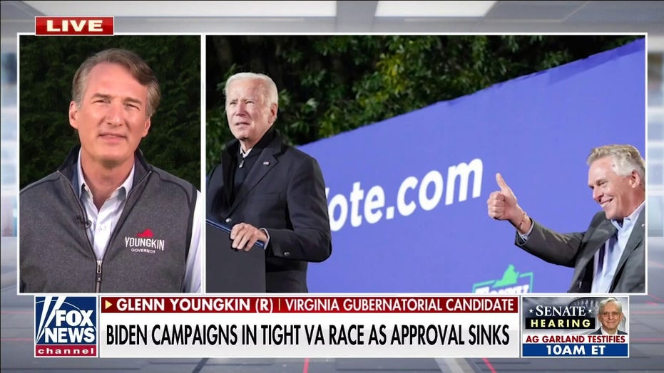 Youngkin hits back at Biden's January 6th jab: 'Standard rhetoric of a failing campaign'