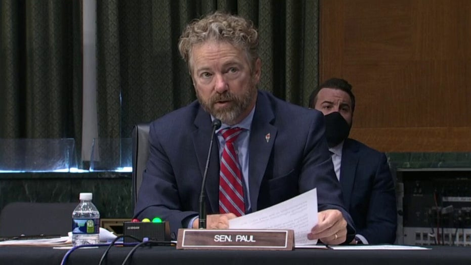 Rand Paul to Dr. Fauci: 'I don't think you're end all' for safely opening the economy
