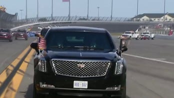 Darrell Waltrip praises President Trump's appearance at the Daytona 500