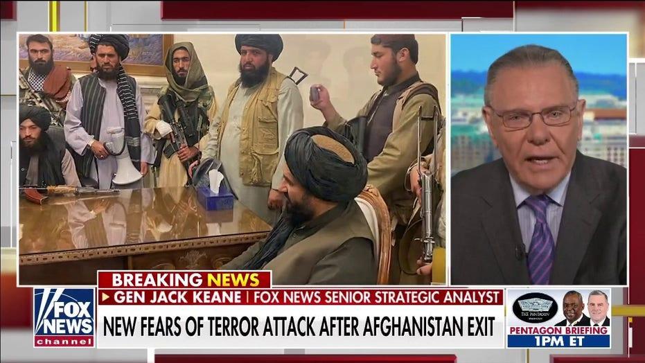 Keane: al Qaeda, ISIS can operate freely again in Taliban-run Afghanistan