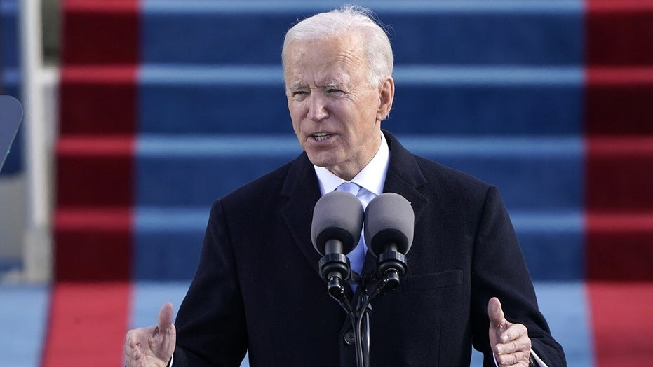 Celebrities react to Joe Biden's inauguration as the 46th president of the United States