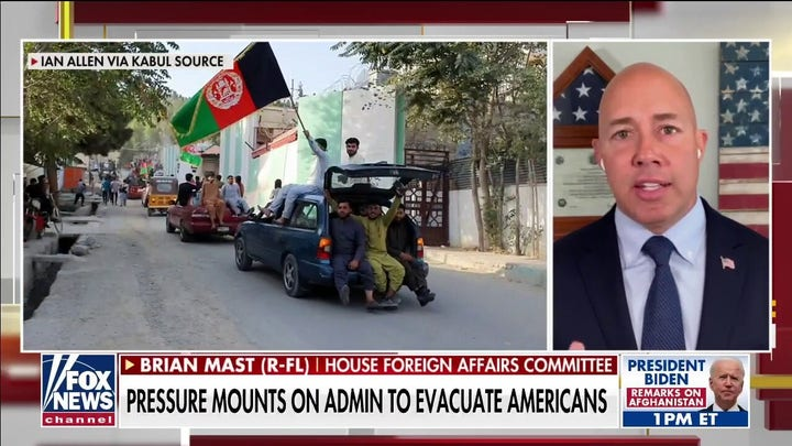 Rep. Brian Mast on Taliban takeover, Afghanistan withdrawal