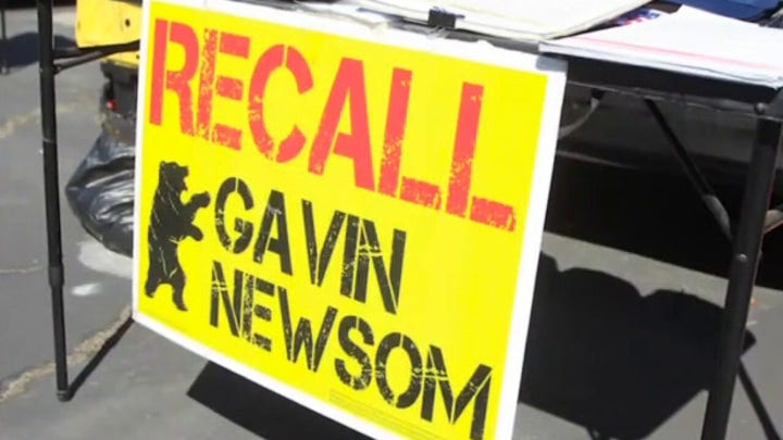 Newsom recall effort surpasses over 1.9 million signatures ahead of deadline
