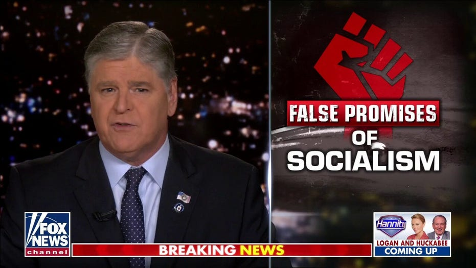 Hannity: America's top radical socialists 'eerily' silent on Cuba protests