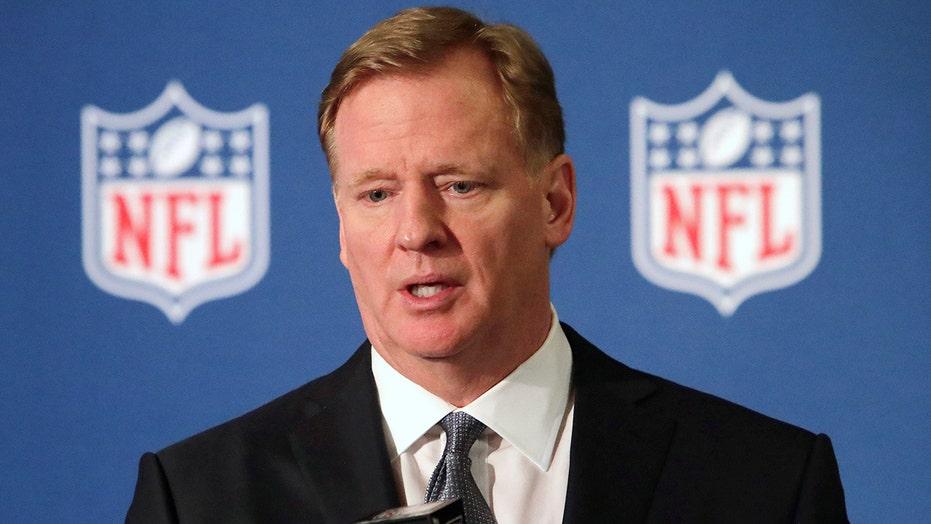 Trump slams NFL anthem protests after commissioner backs players' peaceful protests