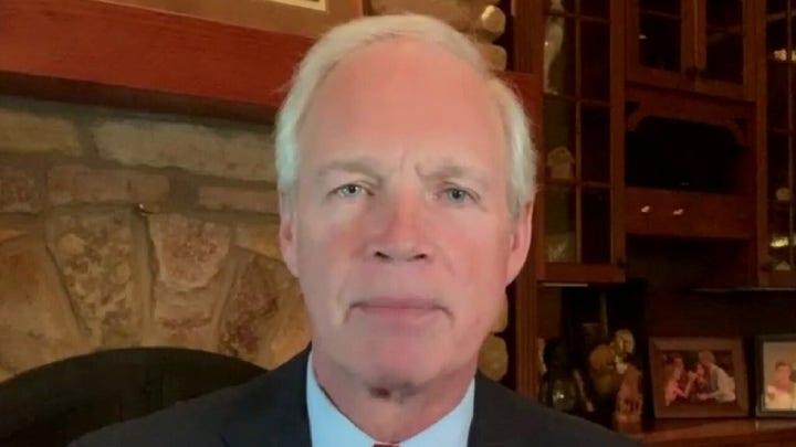 Sen. Johnson: 'Astounding' that most media ignoring Hunter Biden story