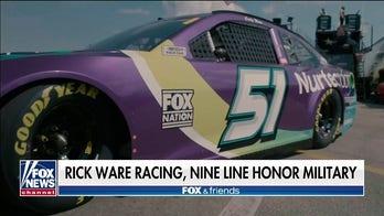 Rick Ware Racing, Nine Line Apparel team up to honor fallen heroes on race cars