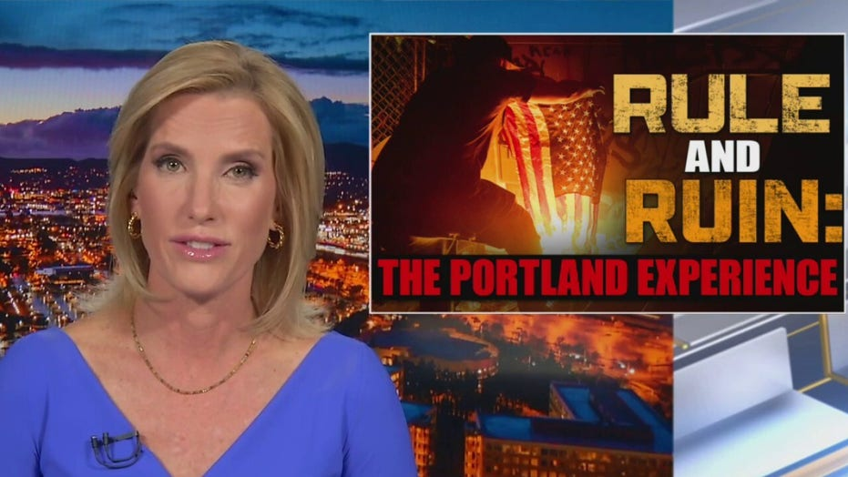 Ingraham: Portland, Oregon an example of Dems' 'rule and ruin' as murders spike