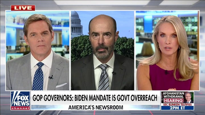 Former labor secretary: Biden's vaccine mandate very 'vulnerable' to legal challenge