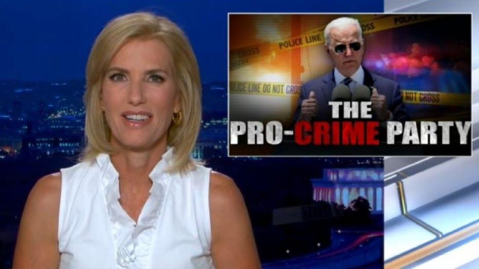 Laura Ingraham blames Democrat policies for crime surge