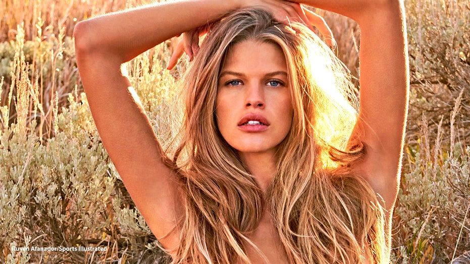 Sports Illustrated Swimsuit rookie Kim Riekenberg recalls showing sizzling snaps to her boyfriend's family