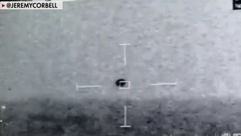 Footage of 'spherical' UFO captured by Navy