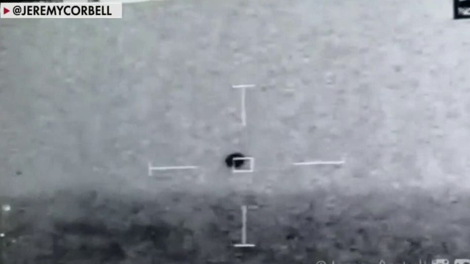US Navy ship's personnel capture video of mysterious flying object