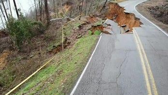 WATCH: Drone footage captures devastating destruction in Tennessee town after landslides