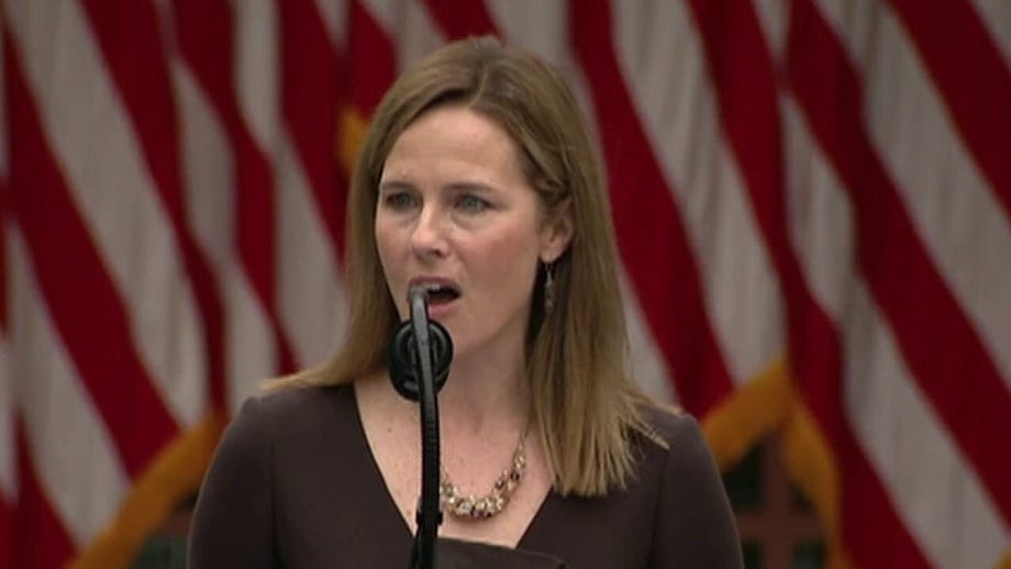 Republicans eye Amy Coney Barrett Senate floor vote at end of October, just days before election