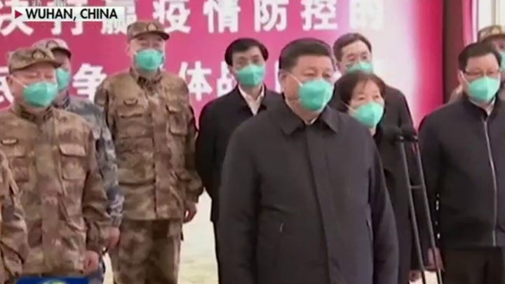 China's Communist Party blaming coronavirus on US