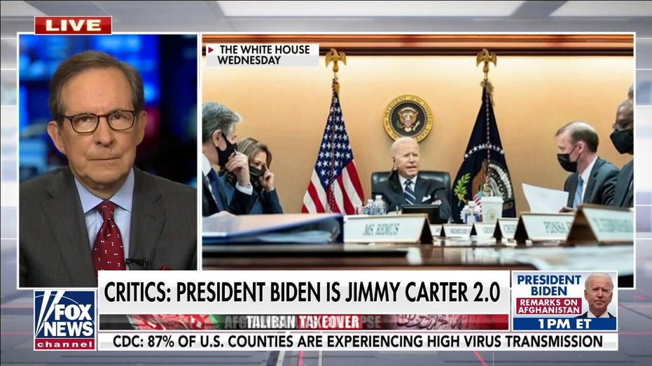 Chris Wallace on criticism of Biden's Afghanistan withdrawal: This is a 'reality problem'