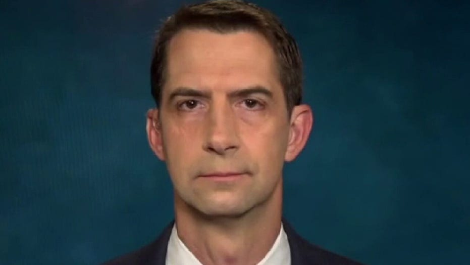 Tom Cotton: Biden's Afghanistan withdrawal 'recklessly negligent,' catastrophic for America