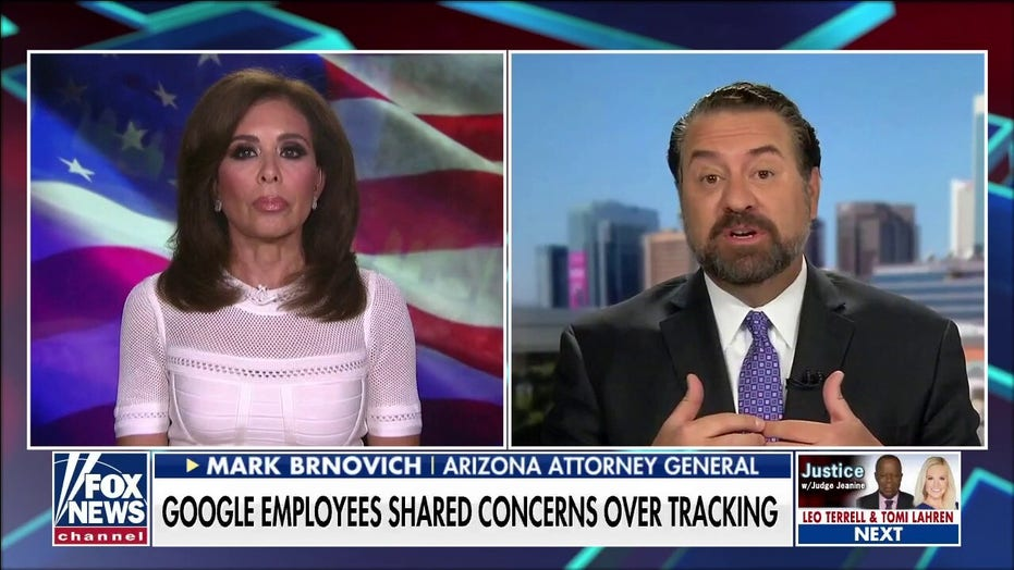 Arizona AG Brnovich on opting-out of Google tracking: 'It's almost impossible'