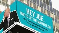 JCN calls out Biden vaccine mandate with New York City billboard