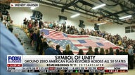 American flag from Ground Zero is restored